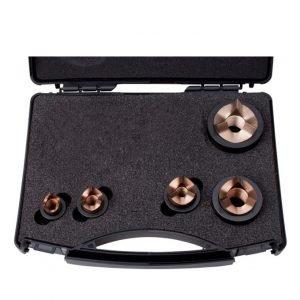 Punch & Die Kit M16,M20,M25,M32,M40 S/Steel Tri-split