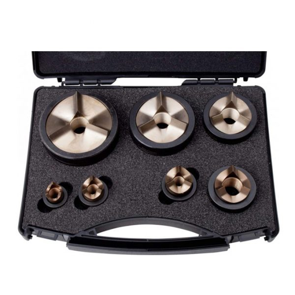 Punch & Die Kit M16,M20,M25,M32,M40,M50,M63 S/Steel Tri-split