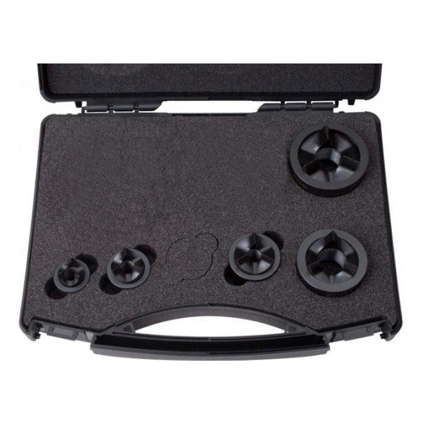 Punch & Die Kit M16,M20,M25,M32,M40 M/Steel Tri-split