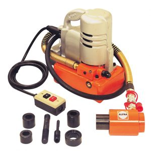 Electro-hydraulic Pump 240V, 700 Bar c/w Punching Cylinder, On/Off Switch & 1.8m Hose