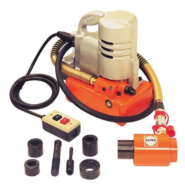 Electro-hydraulic Pump 240V, 700 Bar c/w Punching Cylinder, On/Off Switch & 1.8m Hose