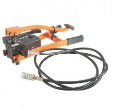 Hydraulic Foot Pump c/w Case & 2.8m Hose & Quick Coupling