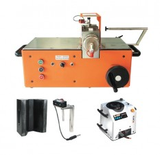 Busbar bending & punching machine c/w bending die, electric angle reader, length stop & pump #AHP M