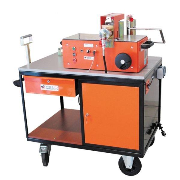 Workshop cart c/w 2 way valve, coupling & drawer
