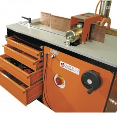 Busbar machine cart c/w bending, punching & cutting & electro-hydraulic pump